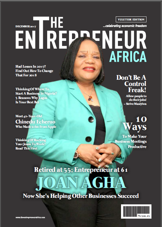 December Edition- Joan Agha