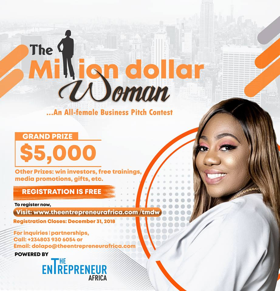 THE MILLION-DOLLAR WOMAN BUSINESS PITCH SET TO EMPOWER FEMALE